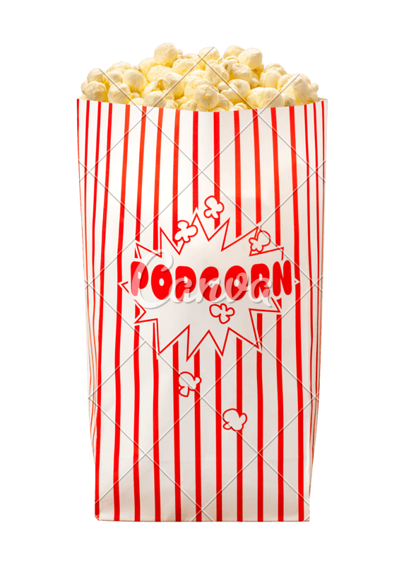 Movie Popcorn Bag - Photos by Canva
