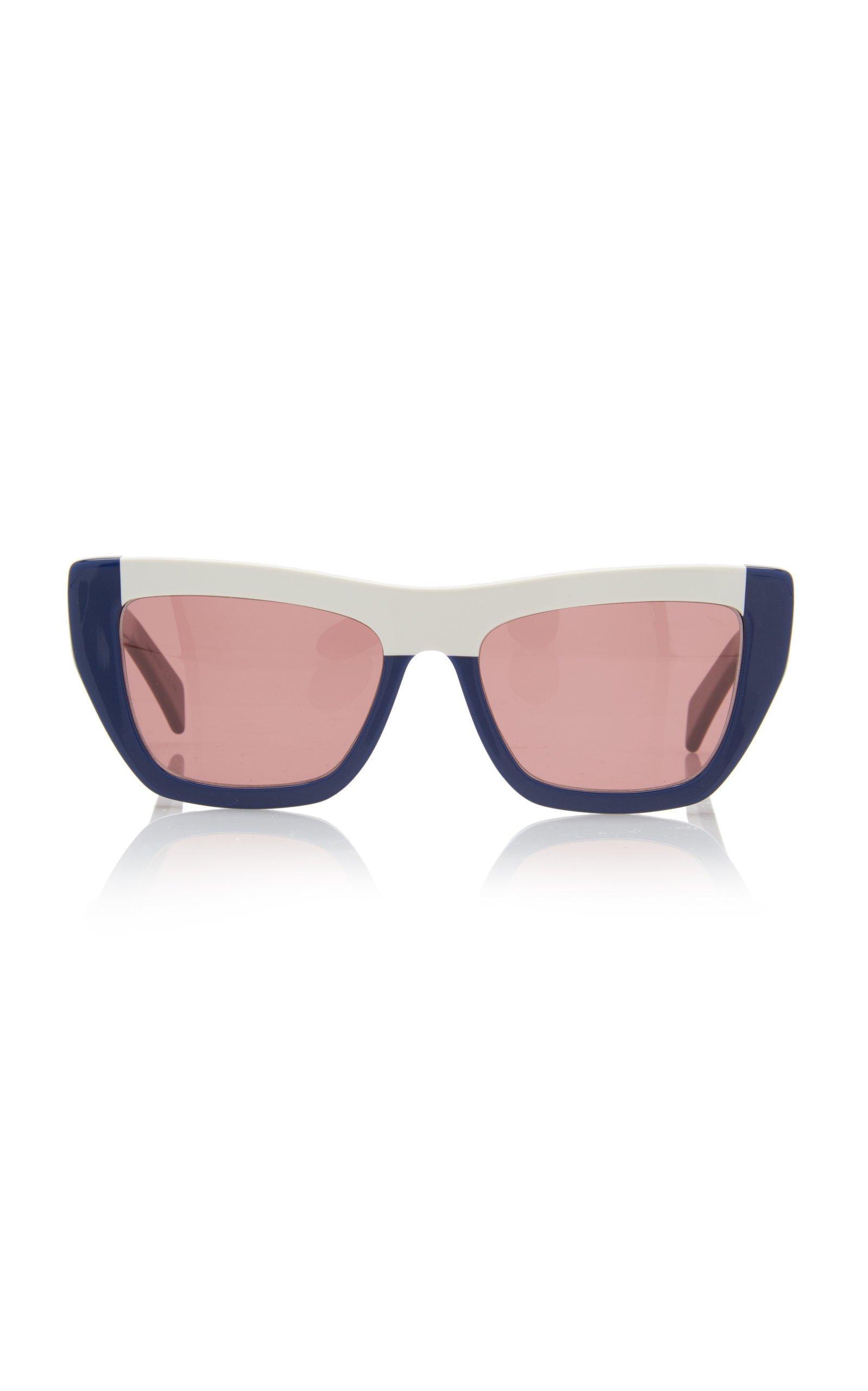 Marni Colorblocked Cat-Eye Sunglasses