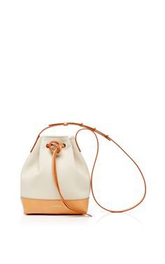 ini Canvas Bucket Bag In Creme With Creme Interior by Mansur Gavriel