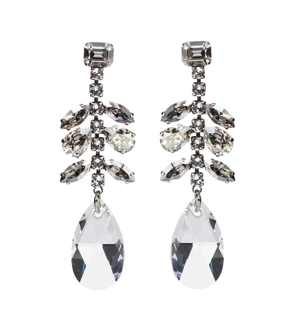 Peace Embellished Drop Earrings - Isabel Marant   mytheresa.com