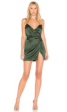 Lovers + Friends Boa Mini Dress in Green | REVOLVE