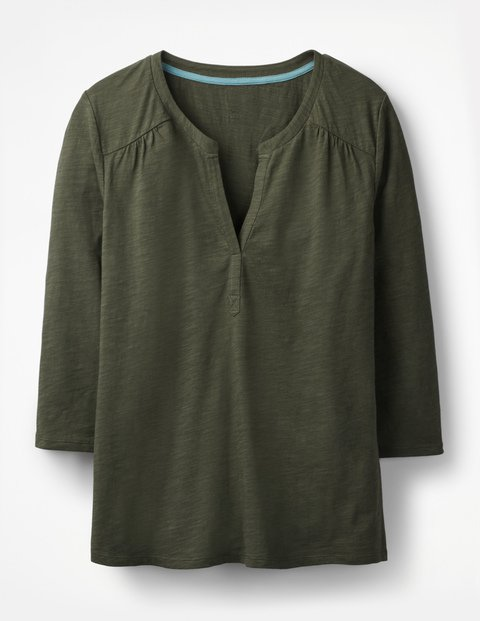 The Cotton Notch Tee J0365 3/4 Sleeved Tops at Boden