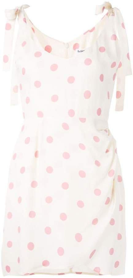 Yves polka dot dress