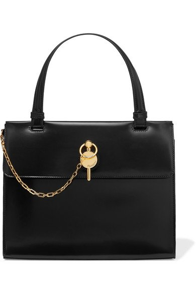 JW Anderson | Frame Keyts glossed-leather tote