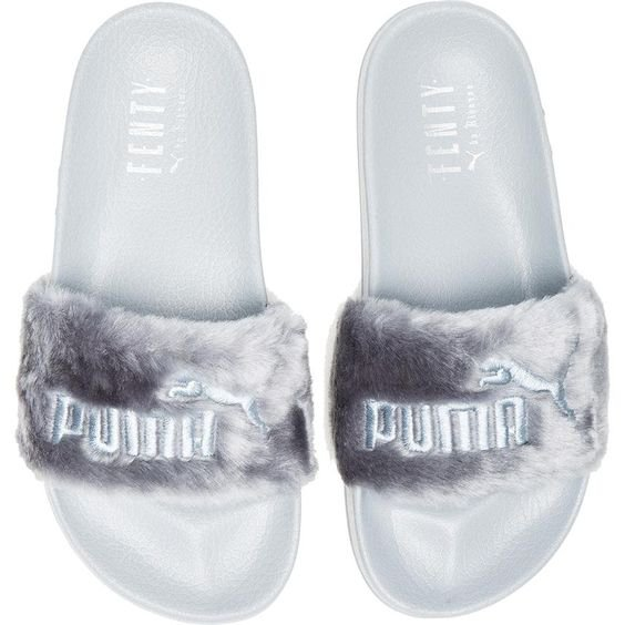 promo code 4d7f6 81dd7 Fenty by Puma Leadcat Faux Fur Slide Sandals | ShopLook