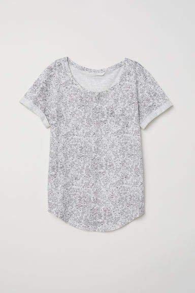 Slub Jersey T-shirt - White