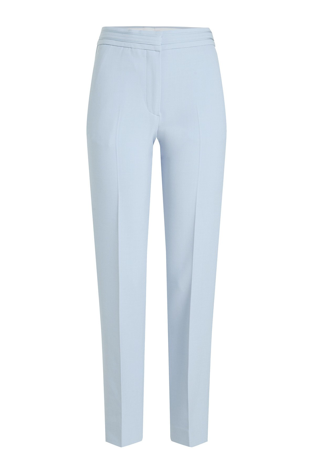 Cropped Straight Leg Pants with Wool Gr. UK 14