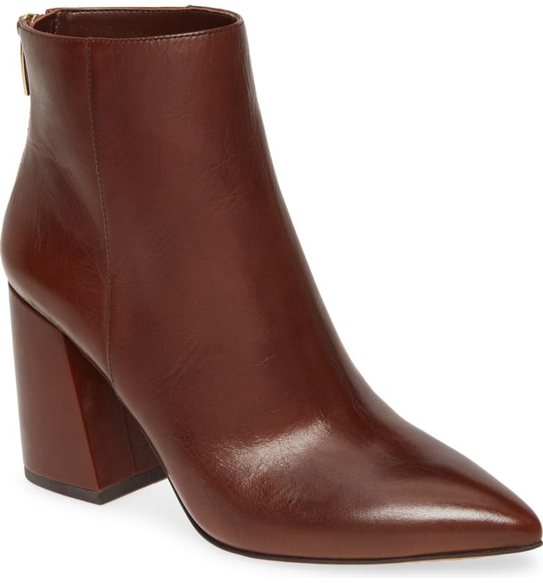 Vince Camuto Benedie Pointed Toe Bootie (Women)   Nordstrom