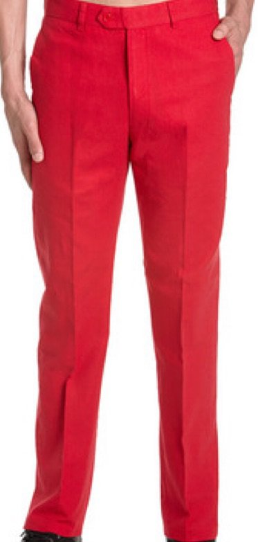 red dress pants men