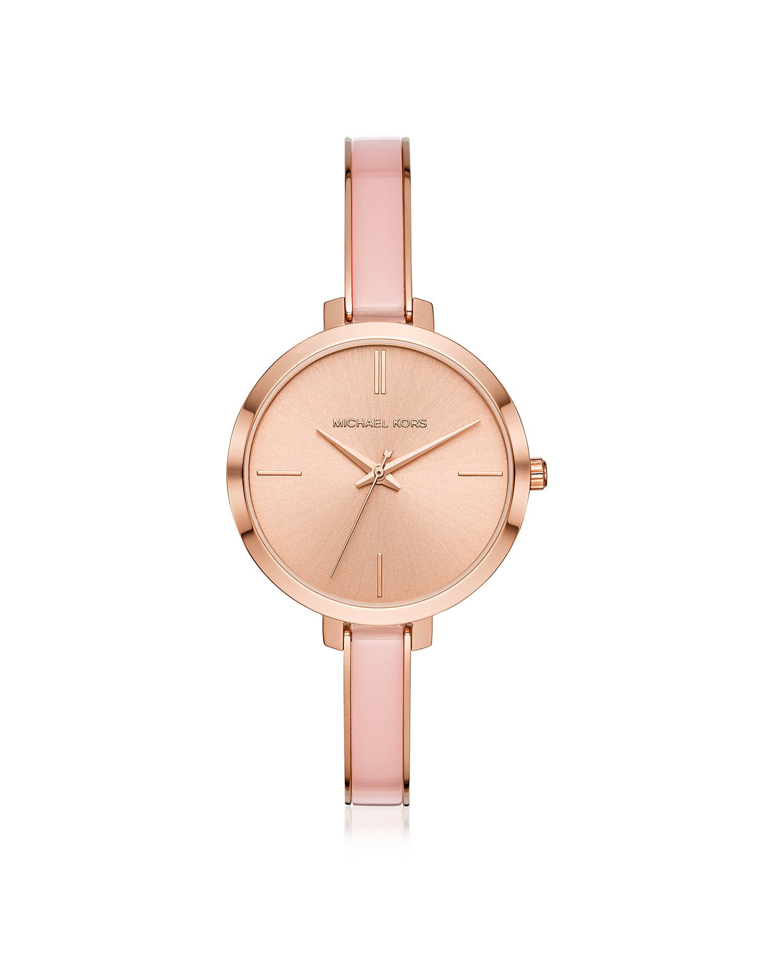 Michael Kors Jaryn Rose Gold Tone And Acetate Watch