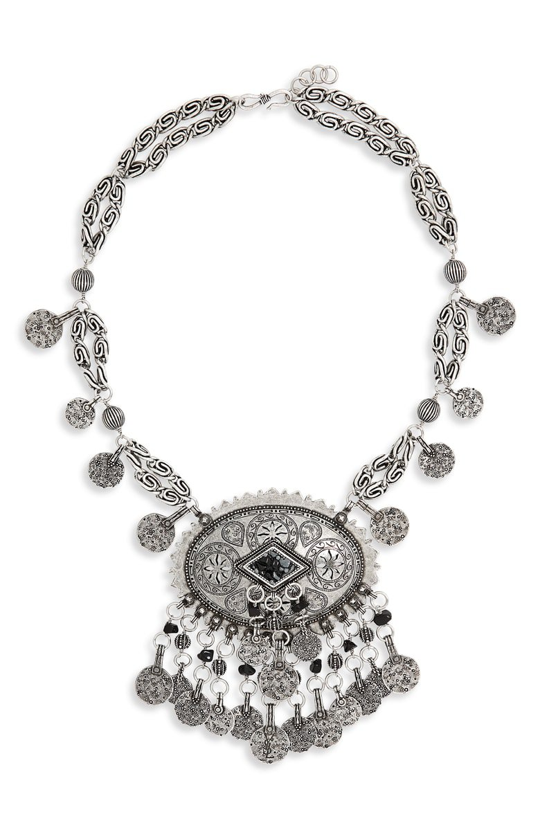 Saint Laurent Marrak Berbere Collar Necklace | Nordstrom