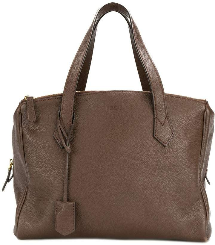 Pre-Owned zipped tote