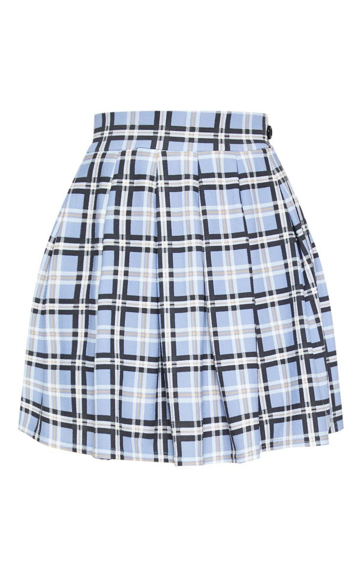 Pastel Check Pleated Tennis Skirt | Skirts | PrettyLittleThing