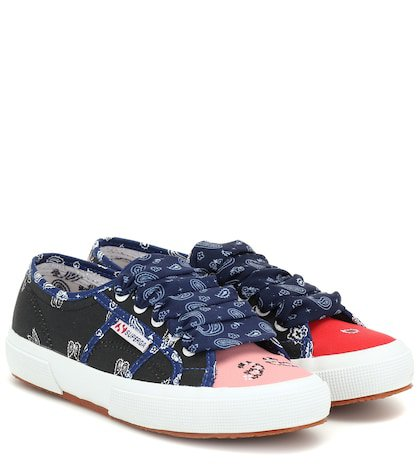x SUPERGA® printed sneakers