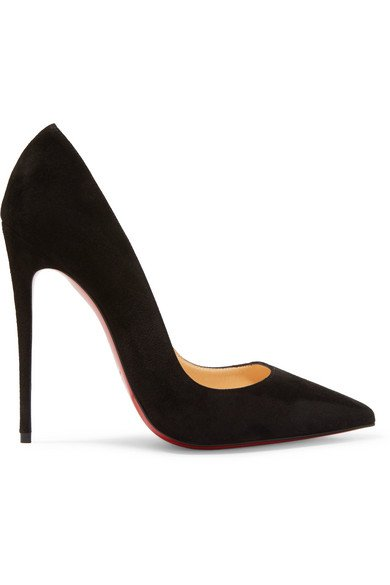 Christian Louboutin | So Kate 120 Pumps aus Veloursleder | NET-A-PORTER.COM