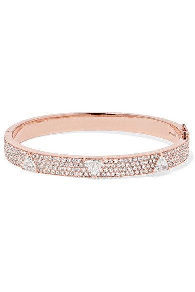 Anita Ko   18-karat rose gold diamond bracelet   NET-A-PORTER.COM