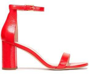 Cracked Patent-leather Sandals
