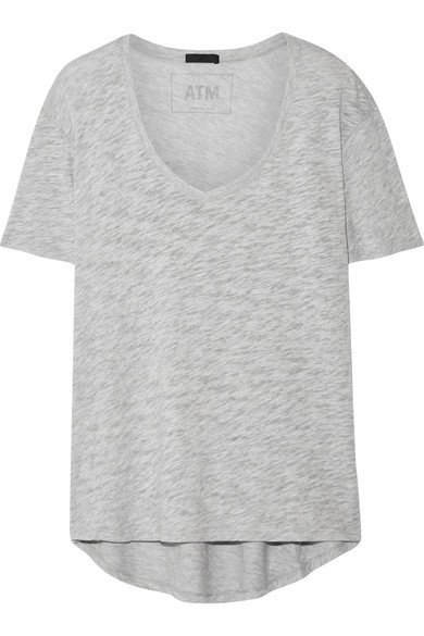 ATM Anthony Thomas Melillo | Boyfriend slub Supima cotton-jersey T-shirt | NET-A-PORTER.COM