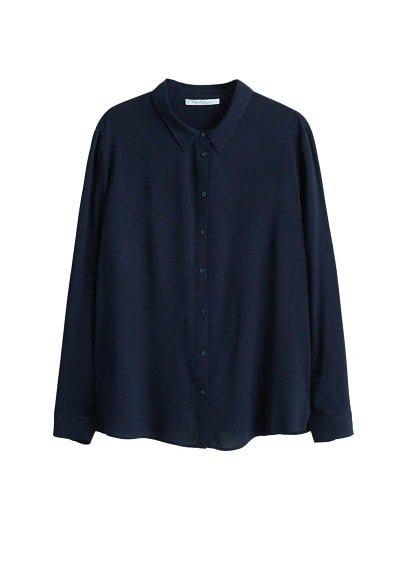 Violeta BY MANGO Flowy shirt