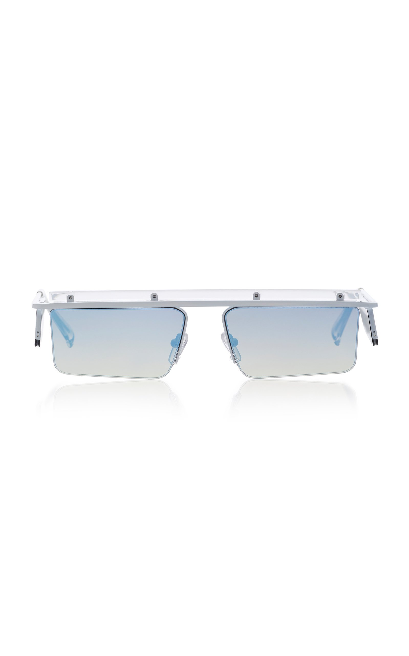 Adam Selman X Le Specs The Flex Square-Frame Sunglasses