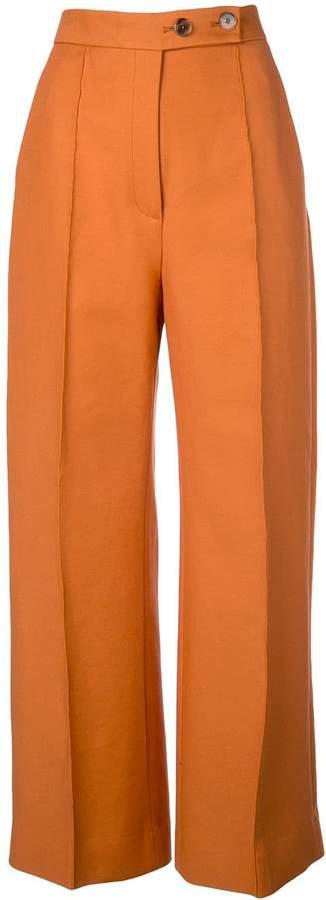 Yasmin wide-leg trousers