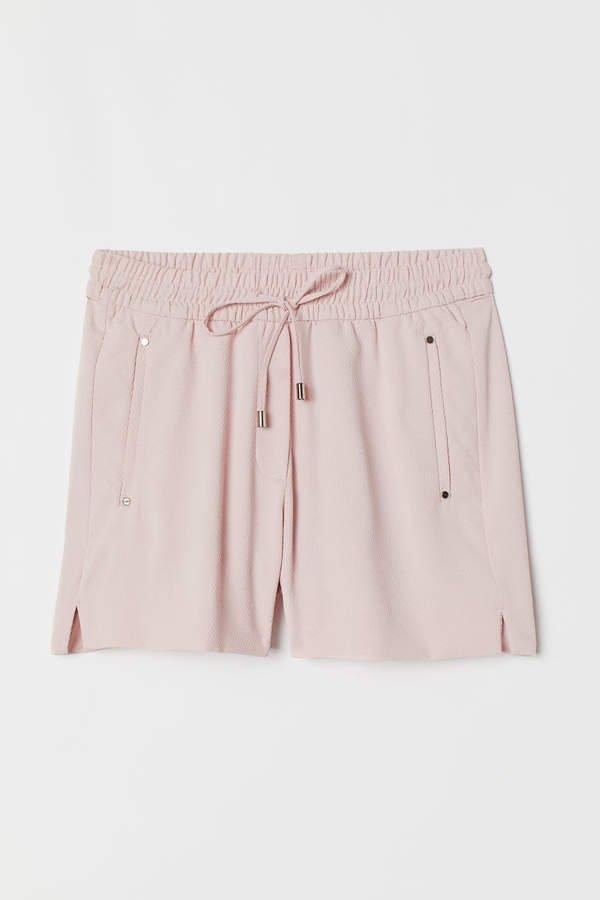Shorts High Waist - Pink