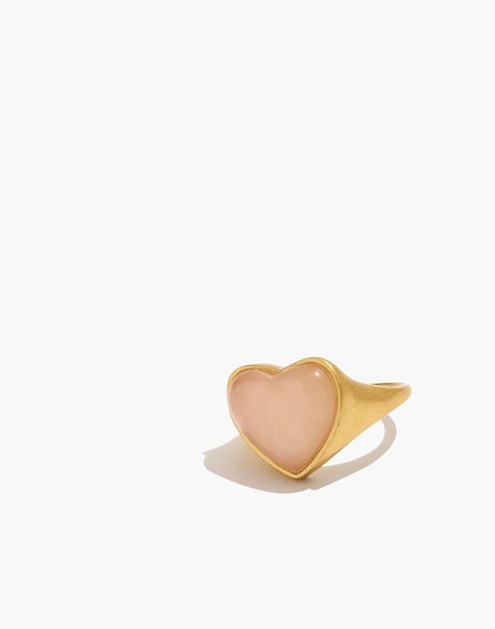 Heart Rock Stud Earrings