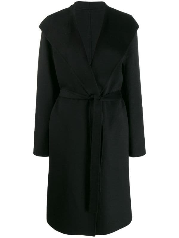 Black Joseph Belted Trench Coat | Farfetch.com