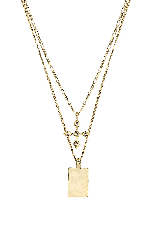 The Diamond Kite Dog Tag Necklace