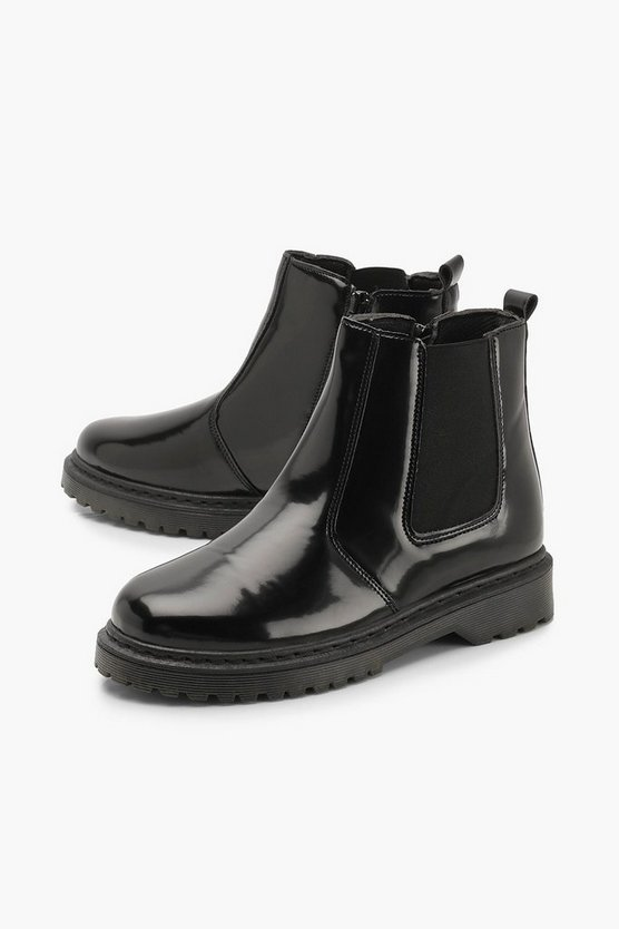 Chunky Chelsea Boots | Boohoo