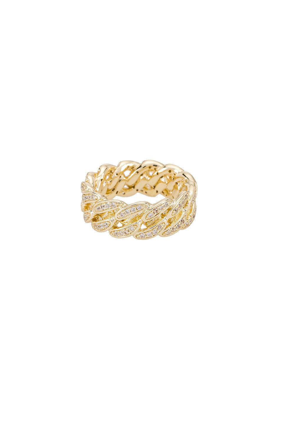 The Iced Cuban Link II Ring