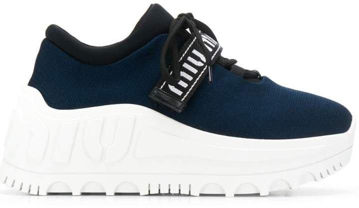 Miu Run platfrom sneakers