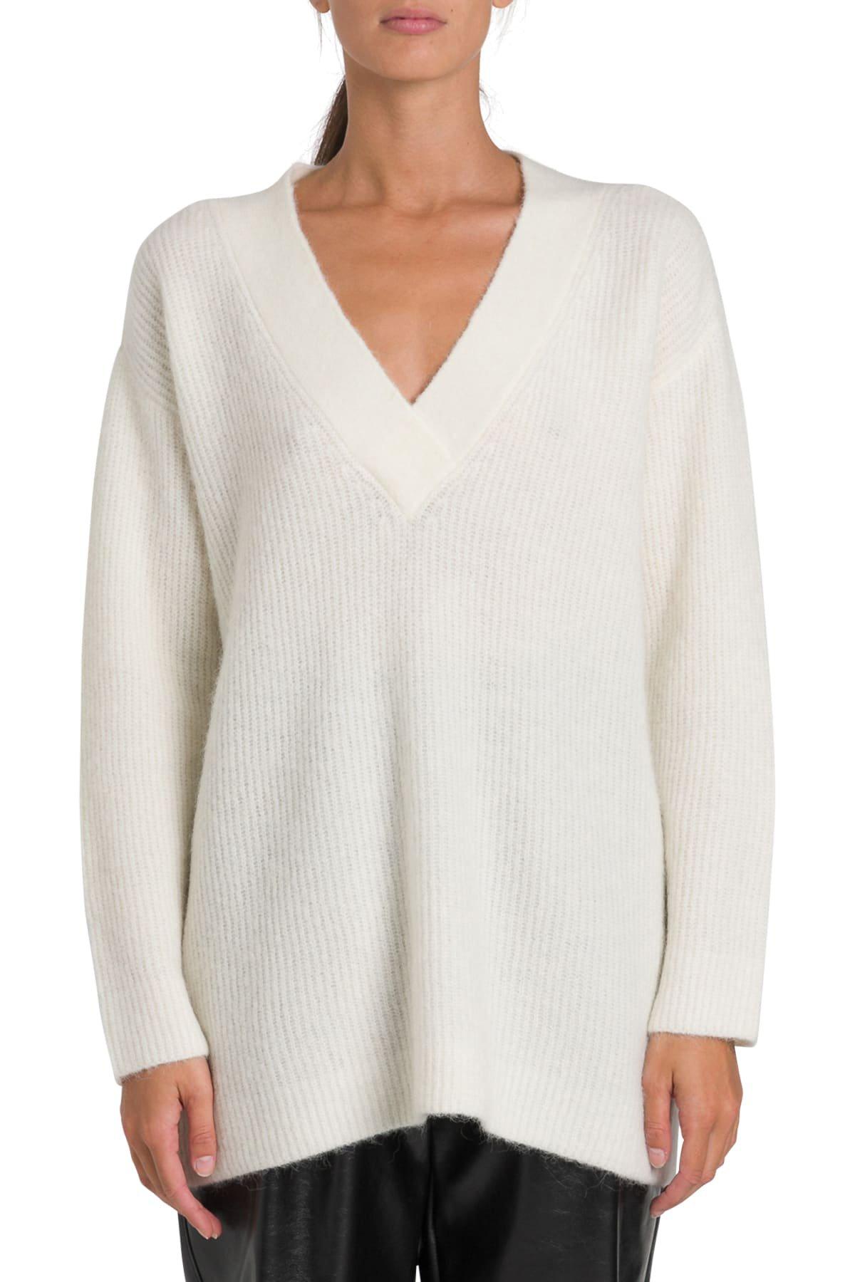 Ganni V Neck Sweater