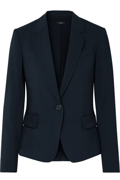 Theory   Gabe stretch-wool blazer   NET-A-PORTER.COM