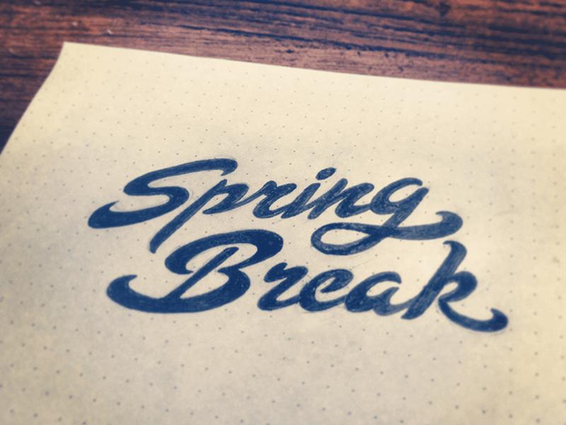 Spring Break by Octopus   Dribbble   Dribbble