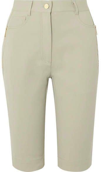 Denim Shorts - Light green