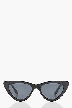 Slim Extreme Cat Eye Sunglasses