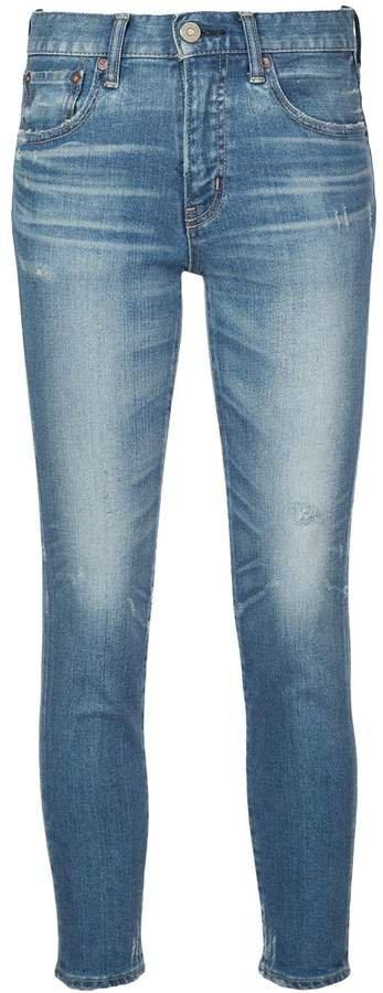 Vintage cropped skinny jeans