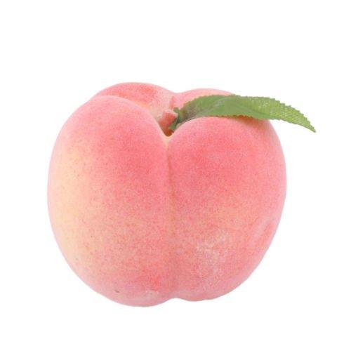 Household Office Decor Foam Lifelike Artificial Emulation Fruit Peach Mold Pink | eBay