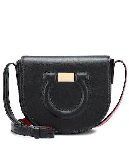 Mini Gancini shoulder bag