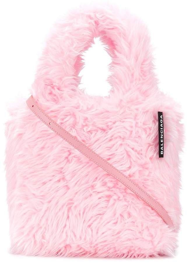 Everyday XXS faux-fur tote