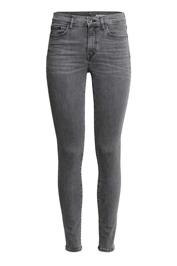 Shaping Skinny Regular Jeans   Grey   LADIES   H&M ZA
