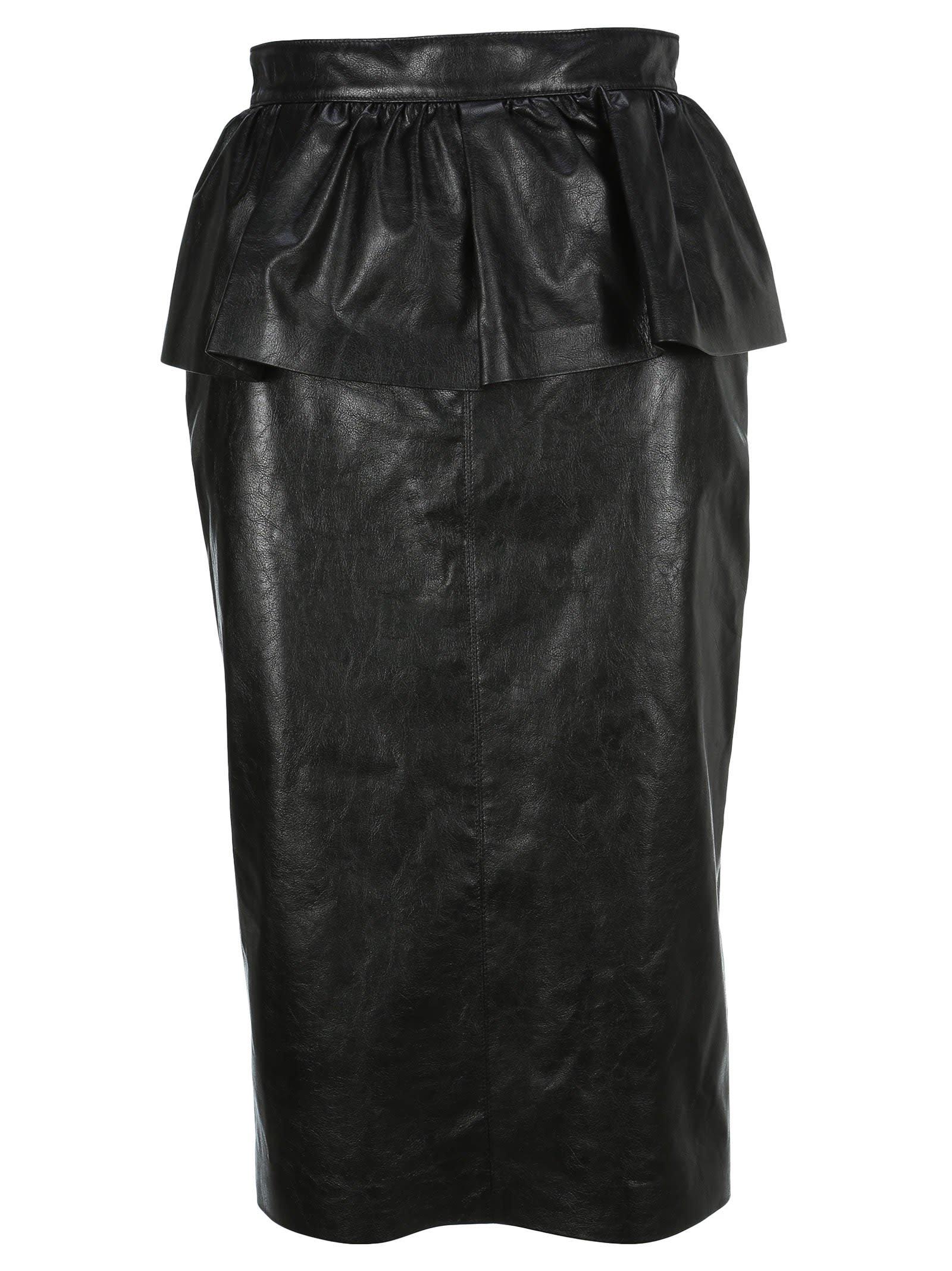 Msgm Ruffled Pencil Skirt