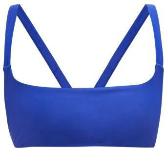 Revel Square Neck Bikini Top - Womens - Blue