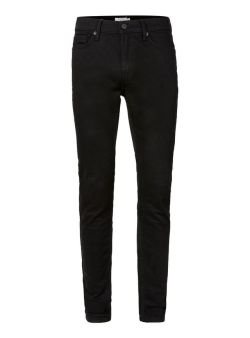 Topman: Black Stretch Skinny Jeans