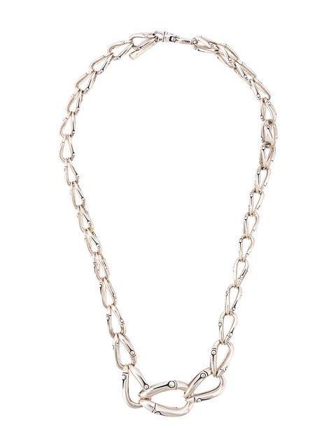 John Hardy Bamboo Graduated Link Necklace - Farfetch