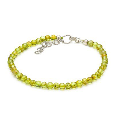 Peridot Gemstone Bracelet | Mystic Self LLC