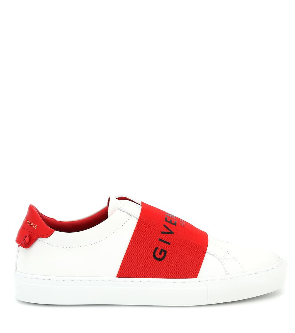 Urban Street Leather Sneakers   Givenchy - mytheresa