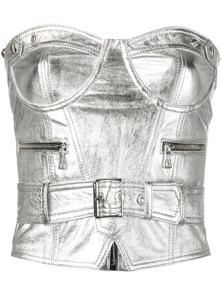 Manokhi bustier structured top - Silver