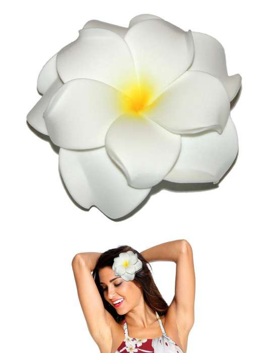 hawaiian flower hair clips - Google Search